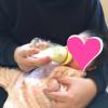 3か月★哺乳瓶の練習